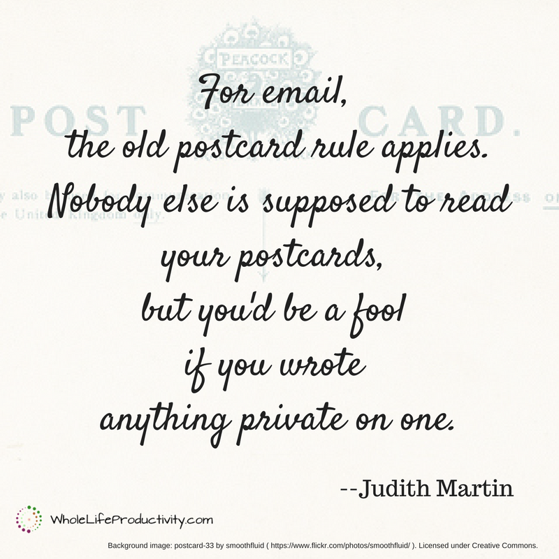 Email Postcard