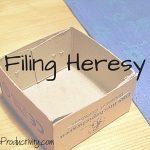 Filing Heresy
