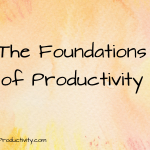 The Foundations of Productivity