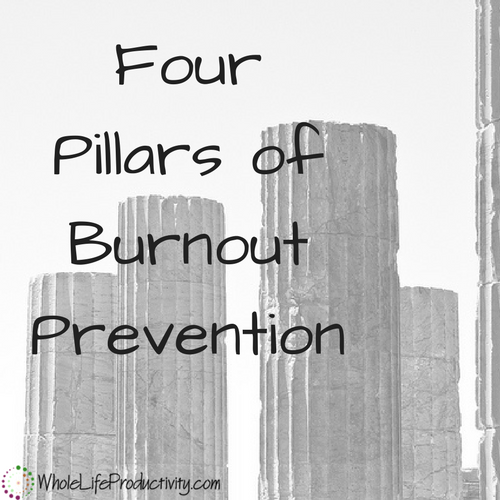 Preventing Burnout: The 4 Pillars