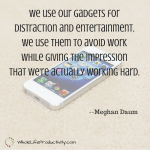 Shareable: Gadget Distraction