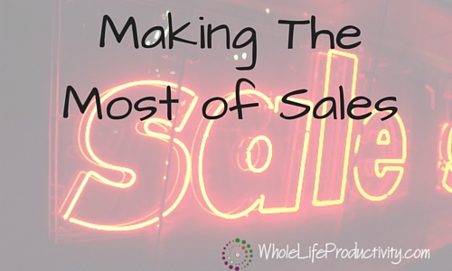 Making The Most of Sales