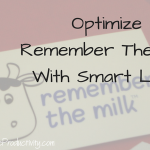 Optimize Remember The Milk With Smart Lists