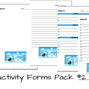 ProductivityFormsPack2