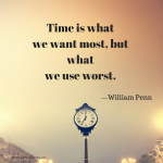 Shareable: Time Is What We Want Most