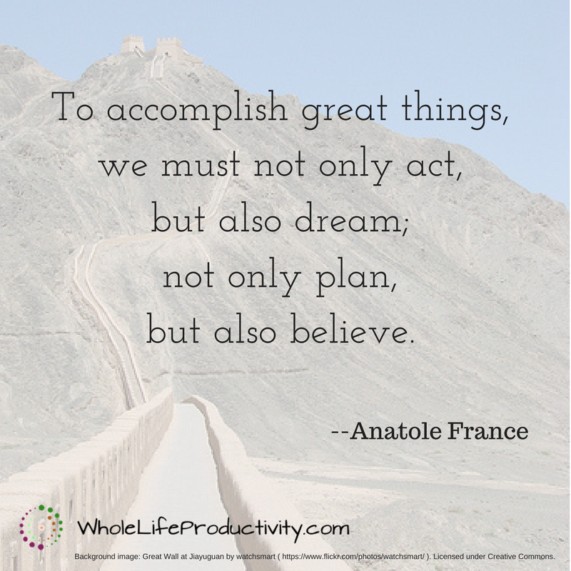 accomplish great things