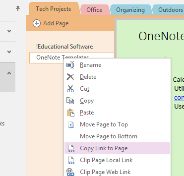 Creating an Idea Notebook in OneNote | Laura Earnest